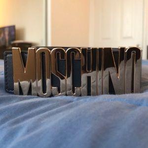 Dark blue (MOSCHINO) belt
